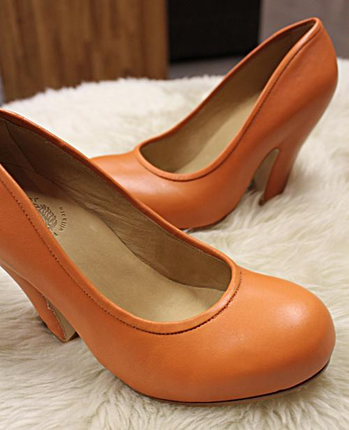 Camper Together, pumps, orange, Lille Vinkel Sko