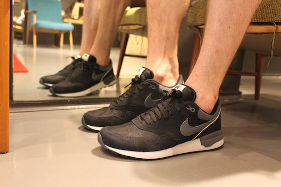 Nike Air Odyssey black white grey