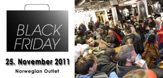 Black Friday hos Lille Vinkel Sko Outlet fredag 25. November!