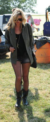 Kate Moss festival boots